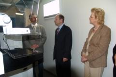 Besichtigung des Trailers durch den Oberbürgermeister der Stadt Stendal vom 20. März 2008